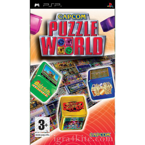 Игра за PSP  3+ Capcom Puzzle World 16332