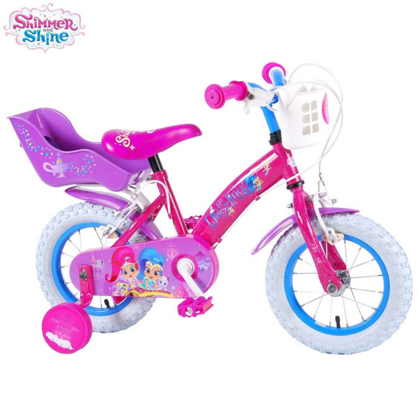 "Shimmer and Shine Детско колело 12"" Искрица и сияйница 81266"