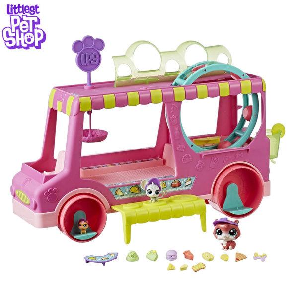 Littlest Pet Shop Камион с лакомства и малки домашни любимци E1840
