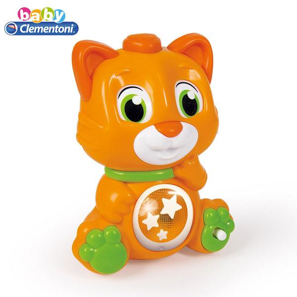 Clementoni Baby Коте с въртящи се очи, звук и светлина 17240