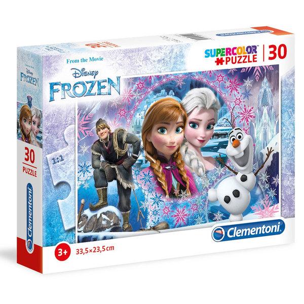 Clementoni Пъзел 3+ Disney Замръзналото кралство 30 части 8504