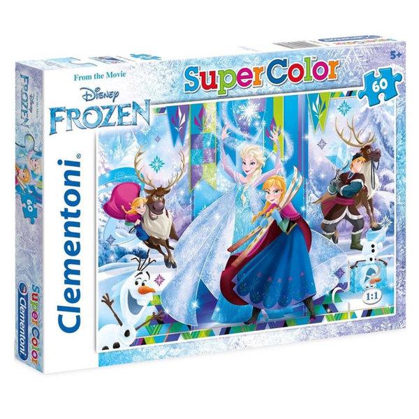 Clementoni Пъзел 5+ Disney Замръзналото кралство 60 части 8433