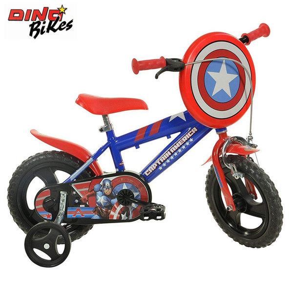 """Dino Bikes - Детско колело 12"""" Marvel Avengers Capitan America 120119559"""