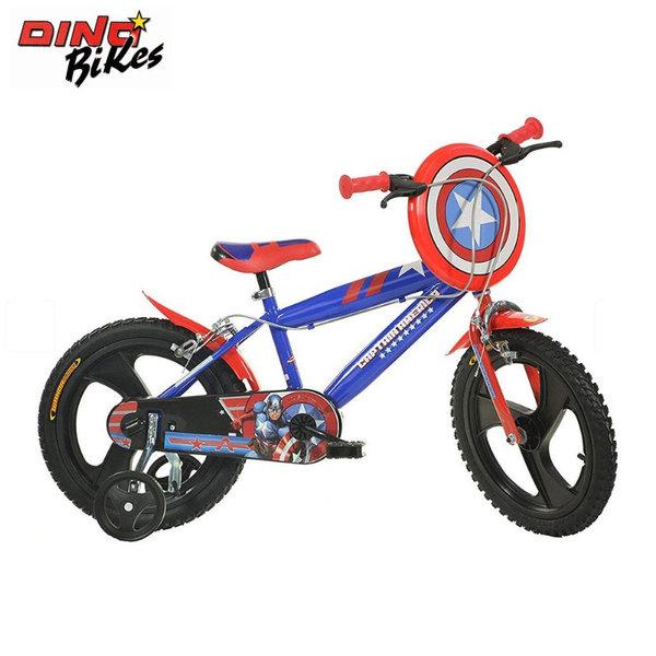 """Dino Bikes Детско колело 16"""" Marvel Avengers Капитан Америка 120119561"""