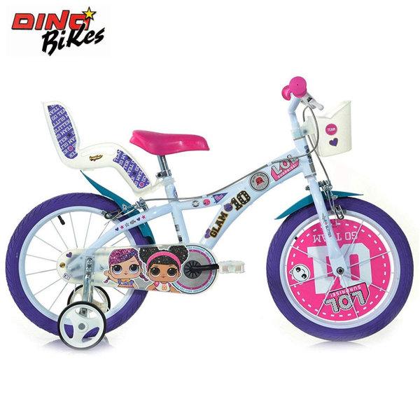 """Dino Bikes Детско колело 16"""" LOL Surprise 120119558"""