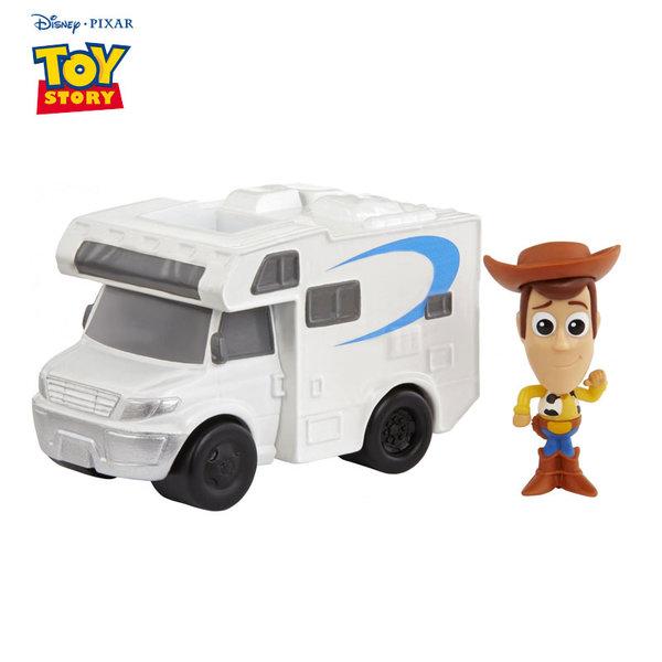 Disney Toy Story Мини фигурка с превозно средство Woody & RV GCY61
