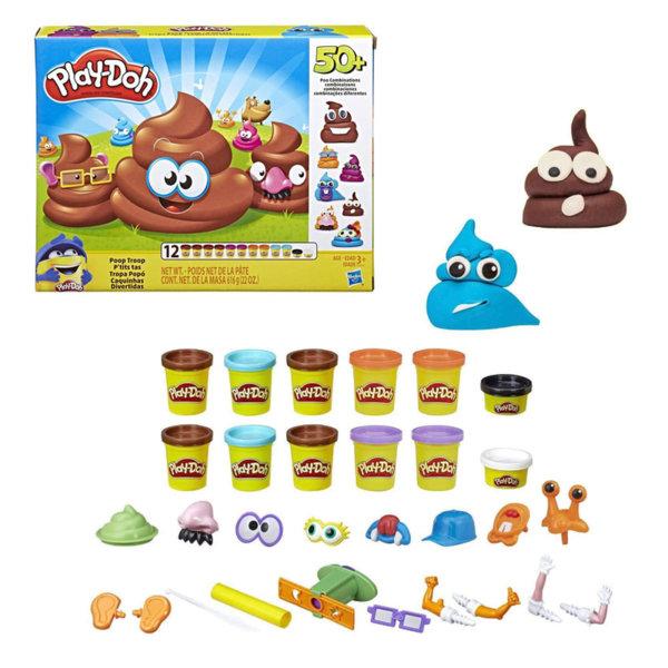 PlayDoh Комплект с пластилини Poop Troop E5810
