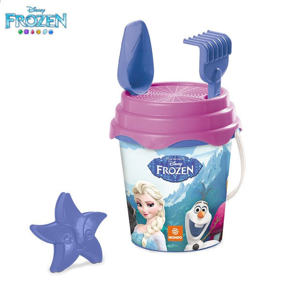 Mondo Frozen Детска кофа с формичка Замръзналото кралство 28216