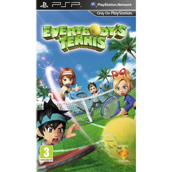 Игра за PSP  3+ Everybody's Tennis