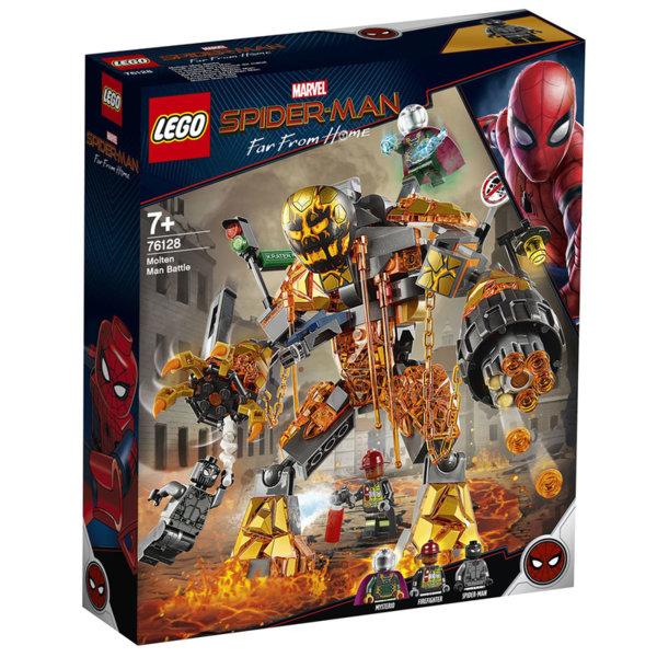 Lego 76128 SpiderMan Битка на Молтен мен