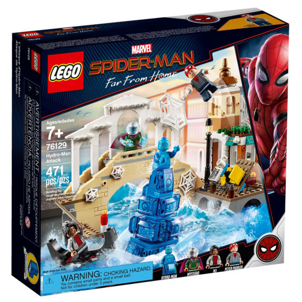 Lego 76129 SpiderMan Нападението на Хидро-мен