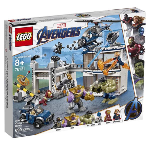 Lego 76131 Marvel Avengers Битка при базата на Отмъстителите