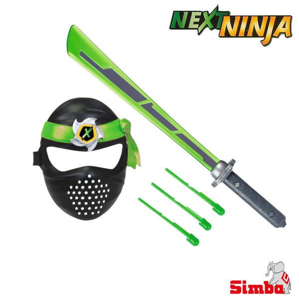 Next Ninja Нинджа маска и меч със звукови и светлинни ефекти 108042238