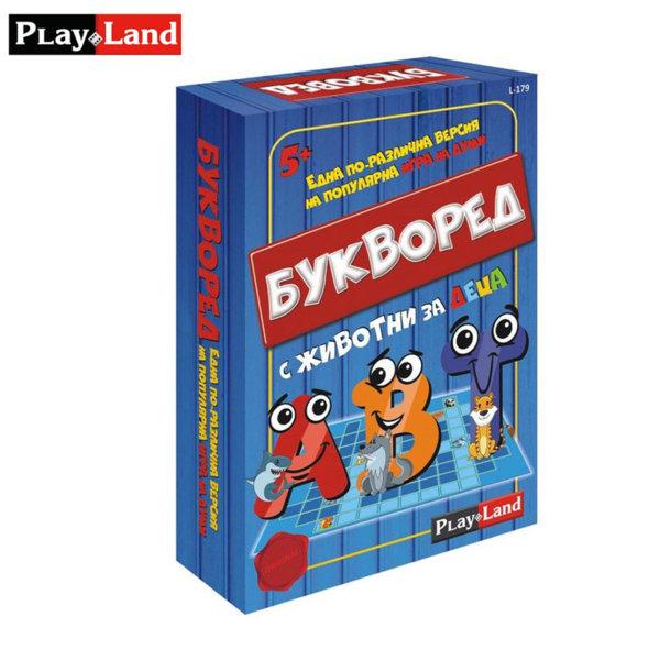 PlayLand Детска игра Букворед с животни L-179