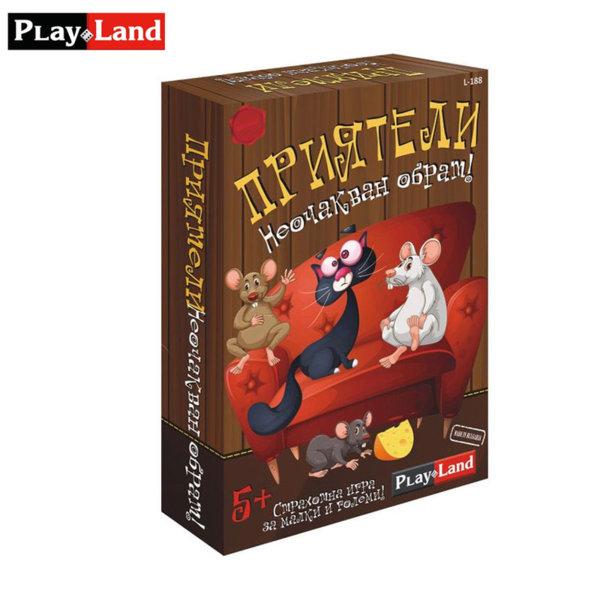 PlayLand Детска игра Приятели Неочакван обрат! L-188