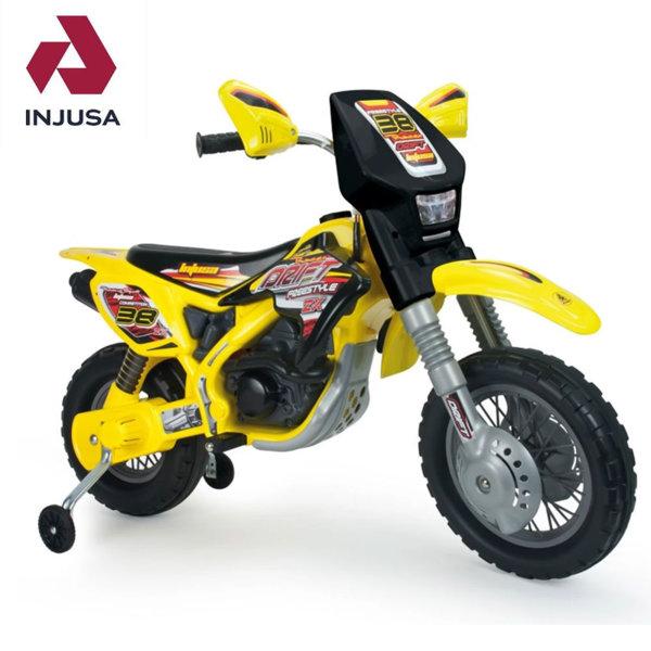 Injusa Акумулаторен кросов мотор Drift ZX 12V 6811