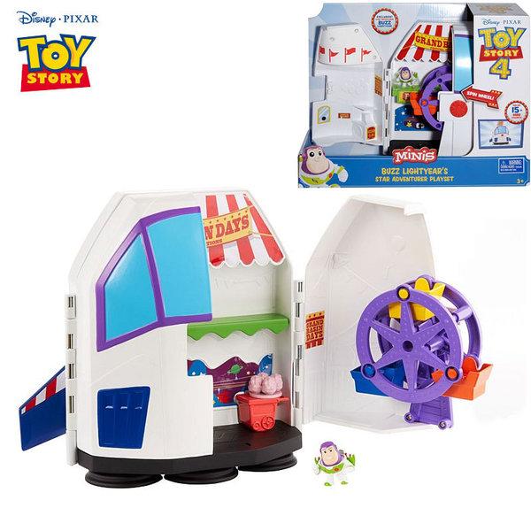 Disney Toy Story Ракетата на Баз Светлинна година Star Adventurer Playset с мини фигурка GCY87