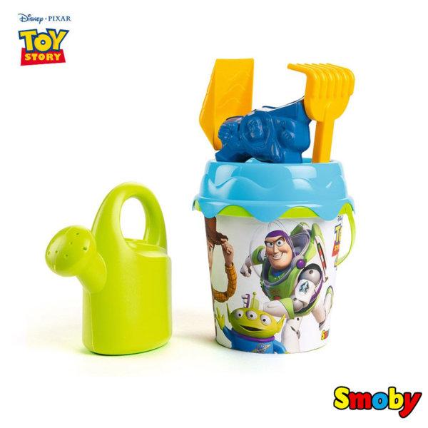 Smoby Disney Toy Story Детска кофа с лейка Дисни Играта на играчките 7600862096