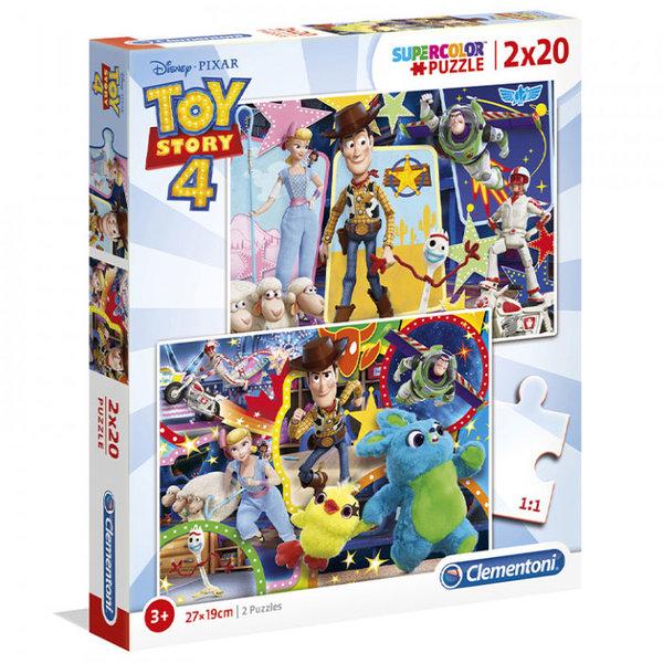 Clementoni Пъзел 3+ Disney Toy Story Играта на играчките 2в1 24761