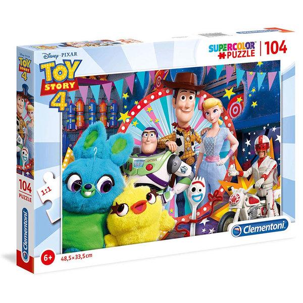 Clementoni Пъзел 6+ Disney Toy Story Играта на играчките 104 части 27276