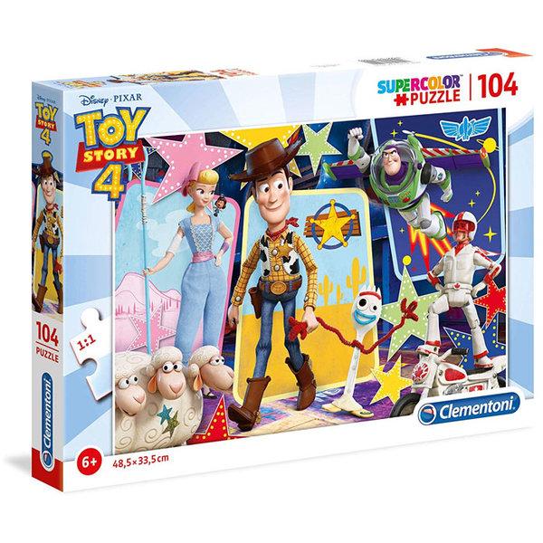 Clementoni Пъзел 6+ Disney Toy Story Играта на играчките 104 части 27129