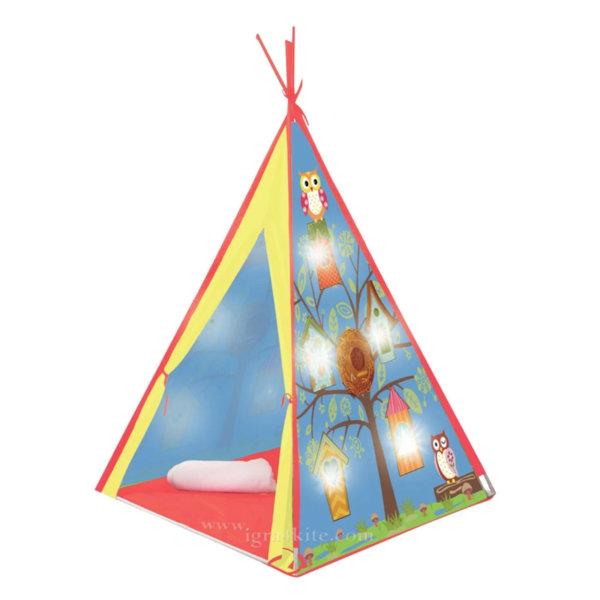 Индианска палатка с LED светлини 6218