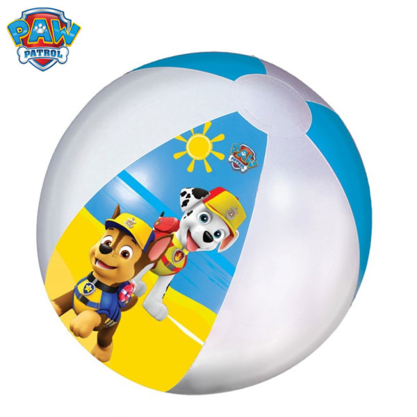 Paw Patrol Надуваема плажна топка Пес Петрул 870-37130
