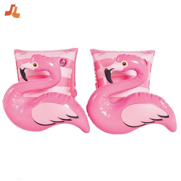 Jilong Детски надуваеми поясчета за ръце Фламинги 37481