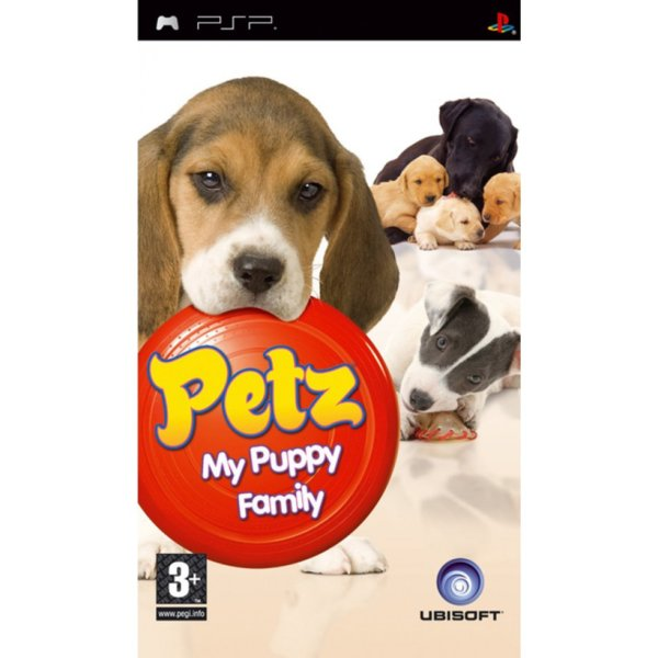 Игра за PSP  3+ Petz My Puppy Family