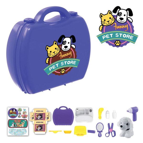 Pet Store Детски магазин за домашни любимци в куфар 17536