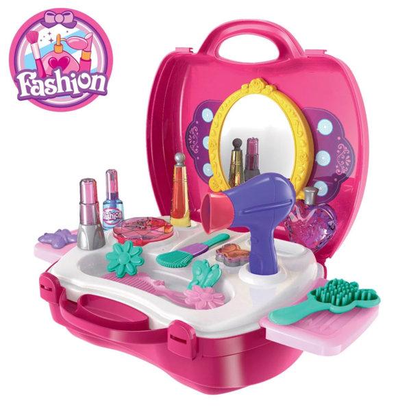 Fashion Детско козметично студио в куфар 18176