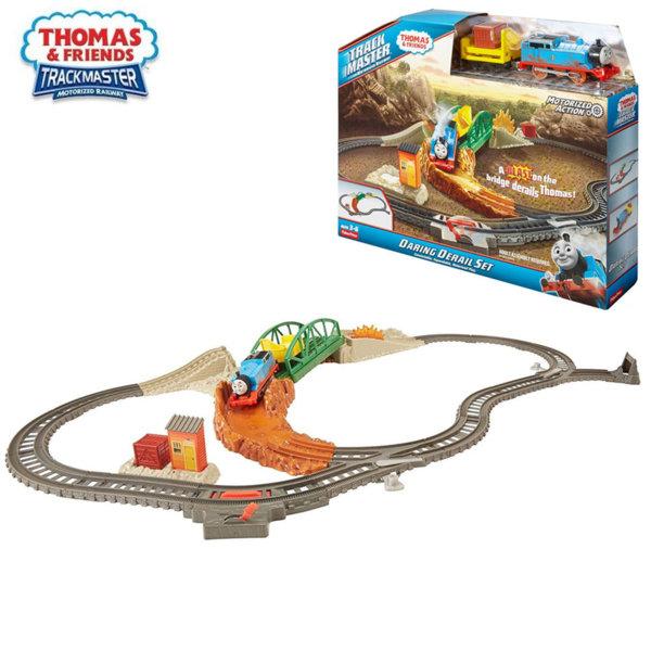 Fisher Price Влакчето Томас TrackMaster Дерайлиране на влакчето Томас FBK07