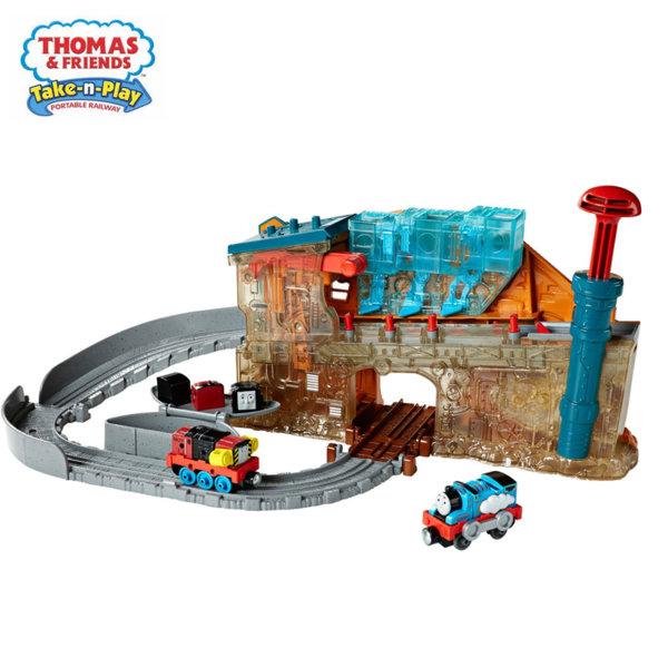 Fisher Price Thomas & Friends Фабрика за локомотиви DMV91