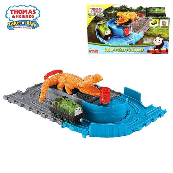 Fisher Price Thomas & Friends Сгъваемо трасе с алигатор CDN04