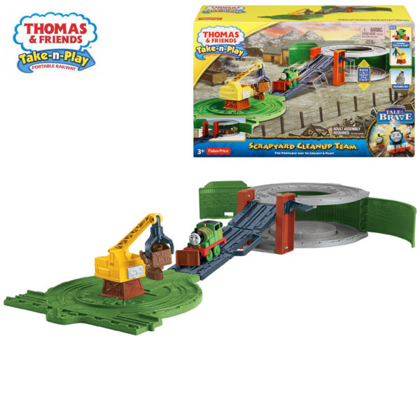 Fisher Price Thomas & Friends Екип за почистване на отпадъци с Пърси и Рег BCX24