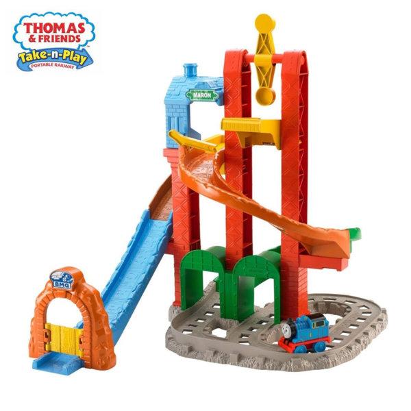 Fisher Price Thomas & Friends Моето пъво влакче Томас Спираловидна писта BCX81