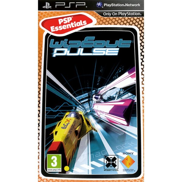 Игра за PSP  3+ Wipeout Pulse - Essentials