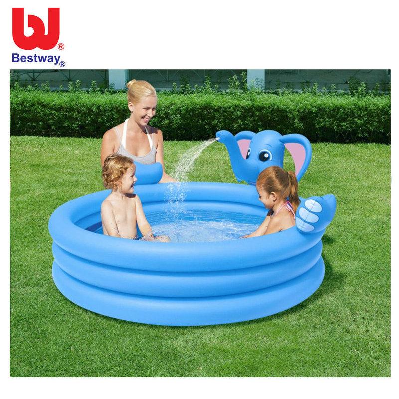 330a99016ba Bestway Детски надуваем басейн с течаща вода Слонче 53048 - Детски играчки  от igra4kite.com