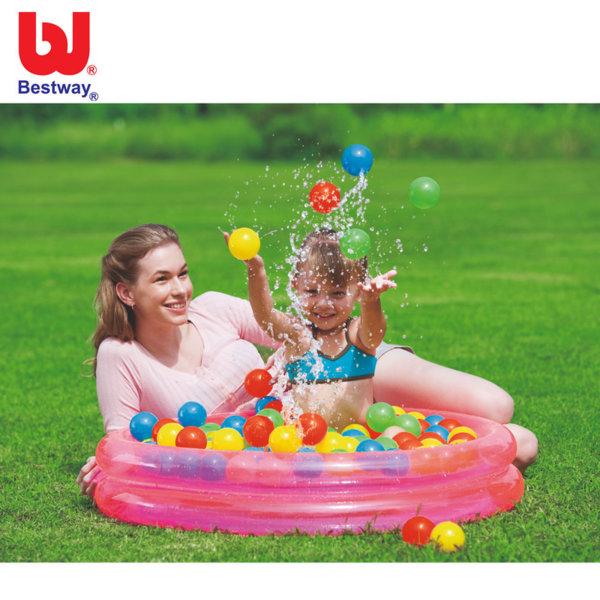 Bestway Детски надуваем басейн с 50 топки 51085