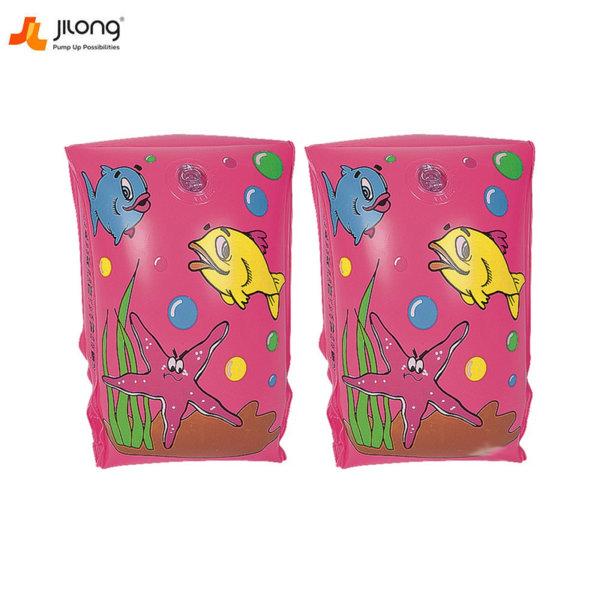 Jilong Детски поясчета за ръце розови 47028