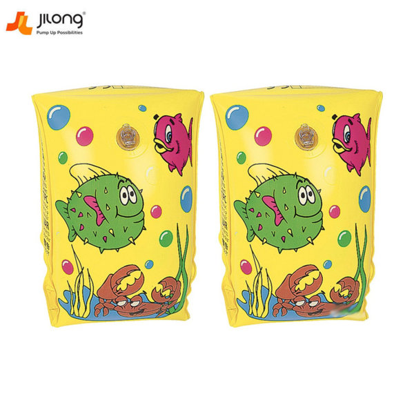 Jilong Детски поясчета за ръце жълти 47028