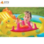 Jilong Надуваем център с басейн и пързалка Динозавър 97225