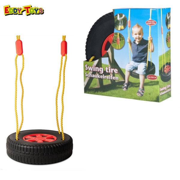 Eddy Toys Детска люлка с въжета Гума