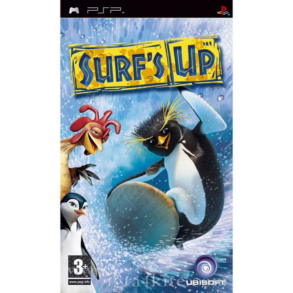 Игра за PSP  3+ Surf's Up