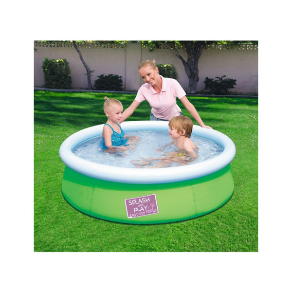 Bestway Детски басейн 152х38см зелен 57241