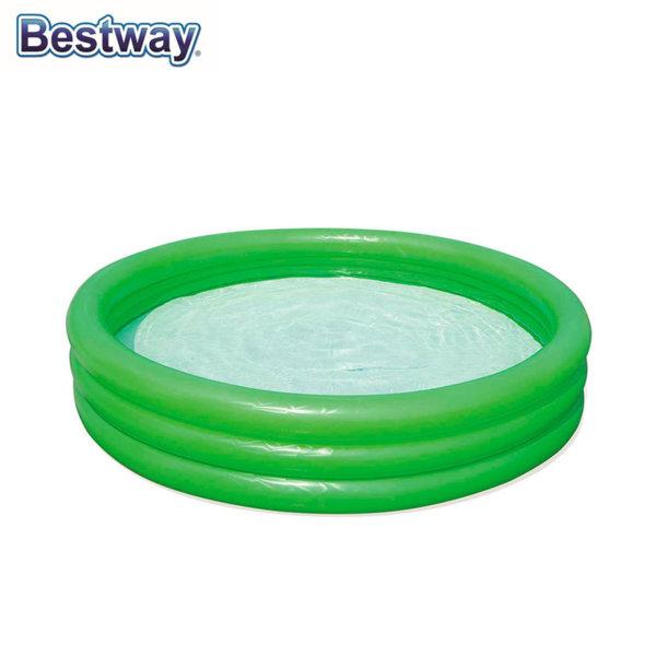 Bestway Детски надуваем басейн със зелено желе Slime Baft 152х30см 51137