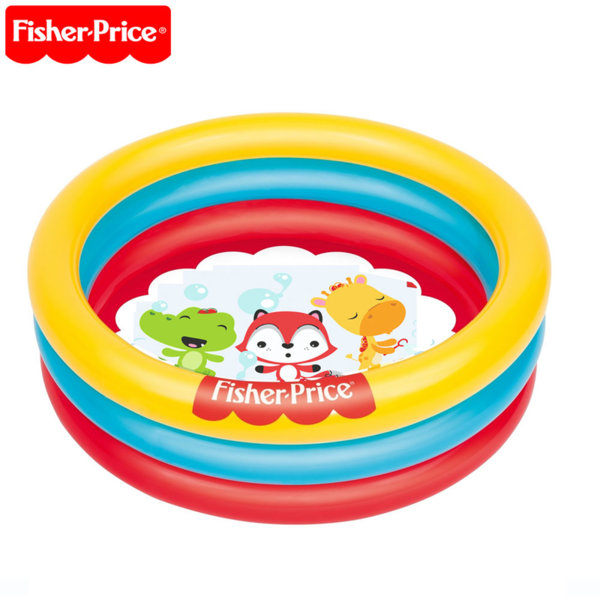 Fisher Price Детски надуваем басейн с 25 топки 93501