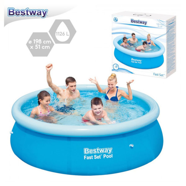 Bestway Надуваем басейн 198х51см 57252