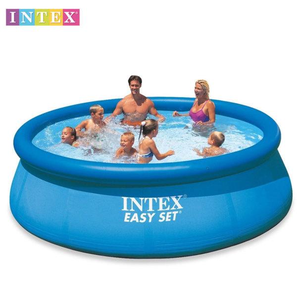 Intex - Надуваем басейн Easy Set 366x76см 28130