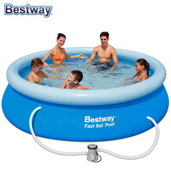 Bestway Надуваем басейн 305х76см с филтърна помпа 57270